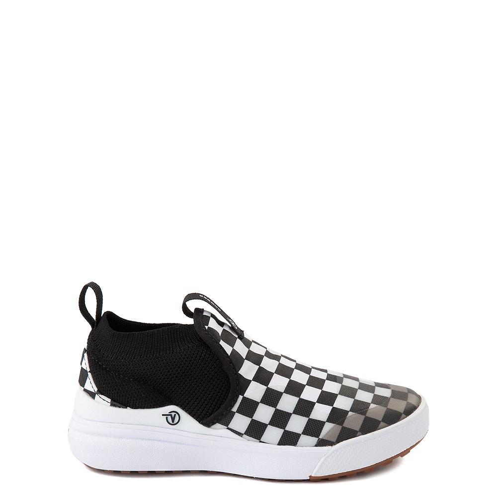 Vans XtremeRanger Checkerboard Sneaker - Little Kid - Black / True White