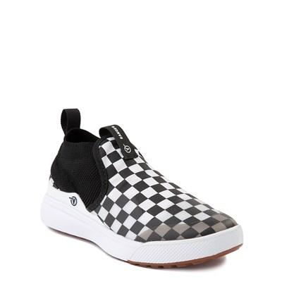 Alternate view of Vans XtremeRanger Checkerboard Sneaker - Big Kid - Black / True White
