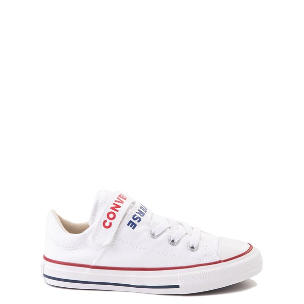 Converse Chuck Taylor All Star Lo Double Strap Sneaker - Little Kid / Big Kid - White