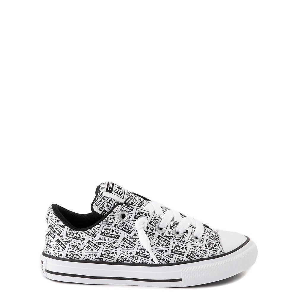 Converse Chuck Taylor All Star Street Lo Sneaker - Little Kid / Big Kid - White / Black