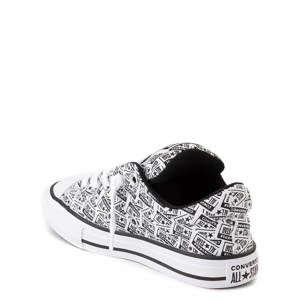 Converse Chuck Taylor All Star Street Lo Sneaker Little Kid Big Kid White Black