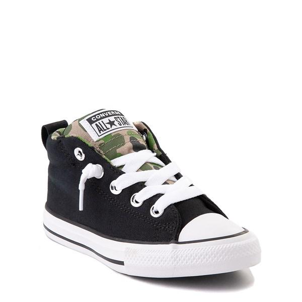 alternate view Converse Chuck Taylor All Star Street Mid Sneaker - Little Kid / Big Kid - Black / CamoALT1B