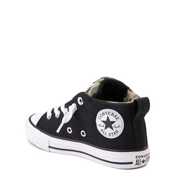 alternate view Converse Chuck Taylor All Star Street Mid Sneaker - Little Kid / Big Kid - Black / CamoALT2