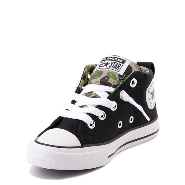 alternate view Converse Chuck Taylor All Star Street Mid Sneaker - Little Kid / Big Kid - Black / CamoALT3