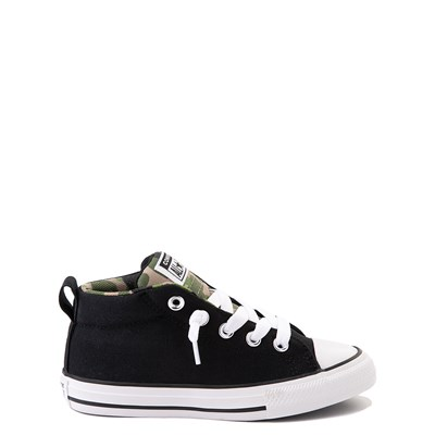 Main view of Converse Chuck Taylor All Star Street Mid Sneaker - Little Kid / Big Kid - Black / Camo