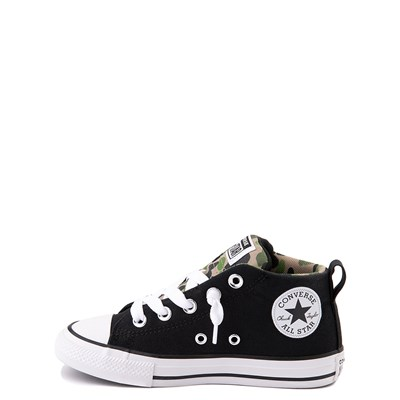 Alternate view of Converse Chuck Taylor All Star Street Mid Sneaker - Little Kid / Big Kid - Black / Camo