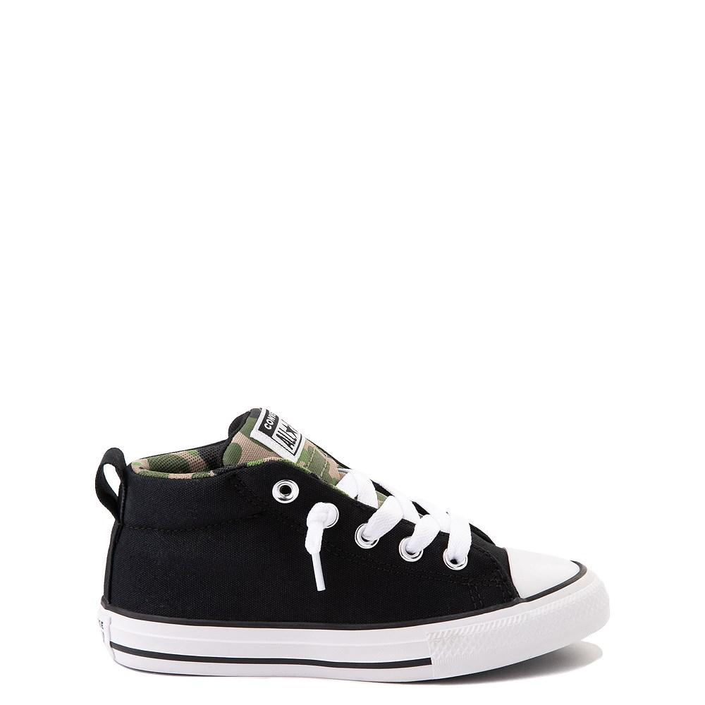 Converse Chuck Taylor All Star Street Mid Sneaker - Little Kid / Big Kid - Black / Camo