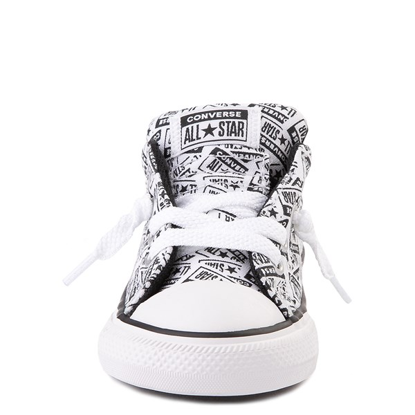 alternate view Converse Chuck Taylor All Star Street Lo Sneaker - Baby / Toddler - White / BlackALT4