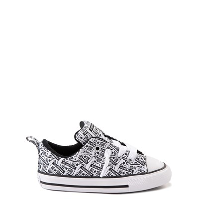 Main view of Converse Chuck Taylor All Star Street Lo Sneaker - Baby / Toddler - White / Black