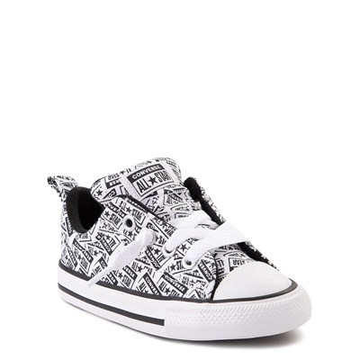 Alternate view of Converse Chuck Taylor All Star Street Lo Sneaker - Baby / Toddler - White / Black