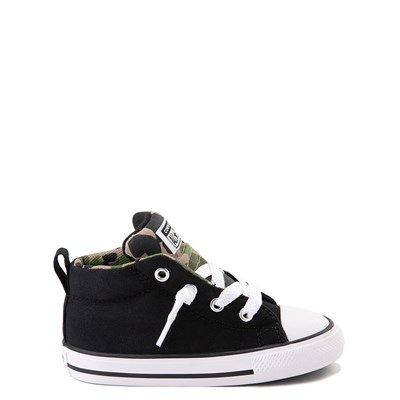 Main view of Converse Chuck Taylor All Star Street Mid Sneaker - Baby / Toddler - Black / Camo