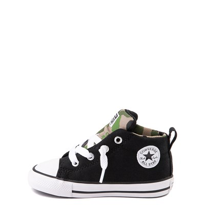Alternate view of Converse Chuck Taylor All Star Street Mid Sneaker - Baby / Toddler - Black / Camo
