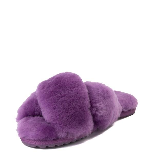alternate view Womens EMU Australia Mayberry Slide Sandal - PurpleALT3