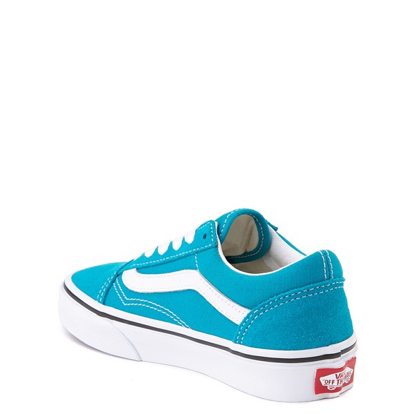 alternate view Vans Old Skool Skate Shoe - Little Kid - Caribbean SeaALT1