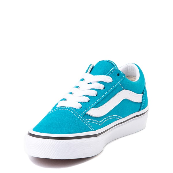 alternate view Vans Old Skool Skate Shoe - Little Kid - Caribbean SeaALT2
