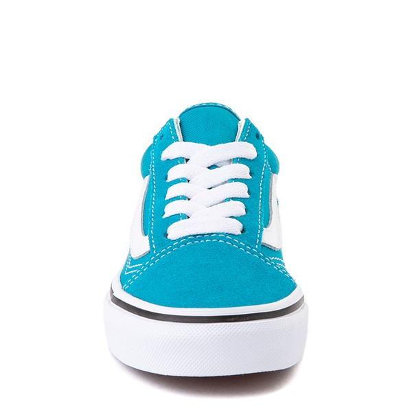 alternate view Vans Old Skool Skate Shoe - Little Kid - Caribbean SeaALT4