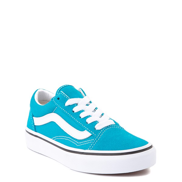alternate view Vans Old Skool Skate Shoe - Little Kid - Caribbean SeaALT5