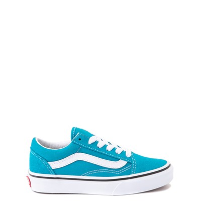 Main view of Vans Old Skool Skate Shoe - Little Kid - Caribbean Sea
