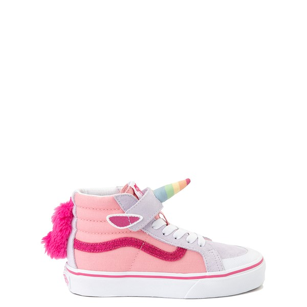 Vans Sk8 Hi V Unicorn Skate Shoe - Little Kid - Pink