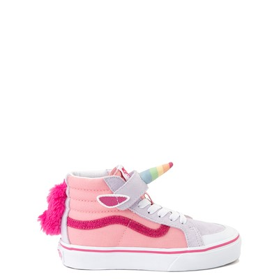 Main view of Vans Sk8 Hi V Unicorn Skate Shoe - Little Kid - Pink