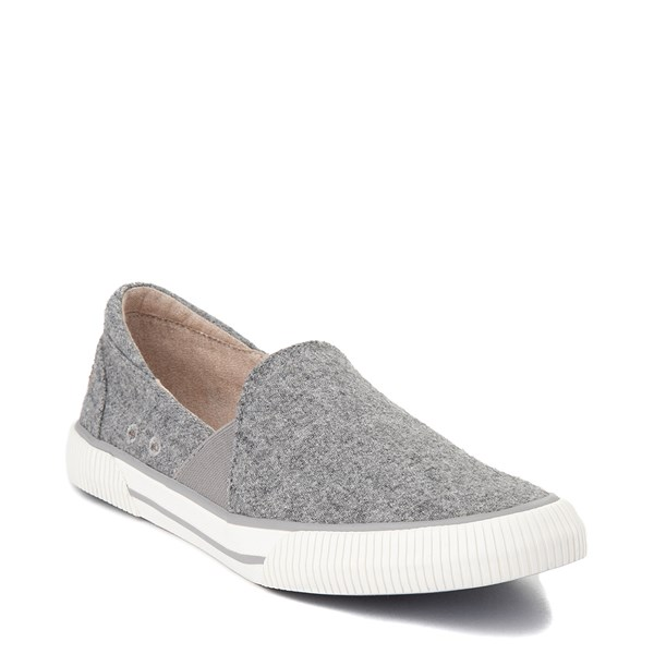 alternate view Womens Roxy Brayden Slip On Casual Shoe - GrayALT1