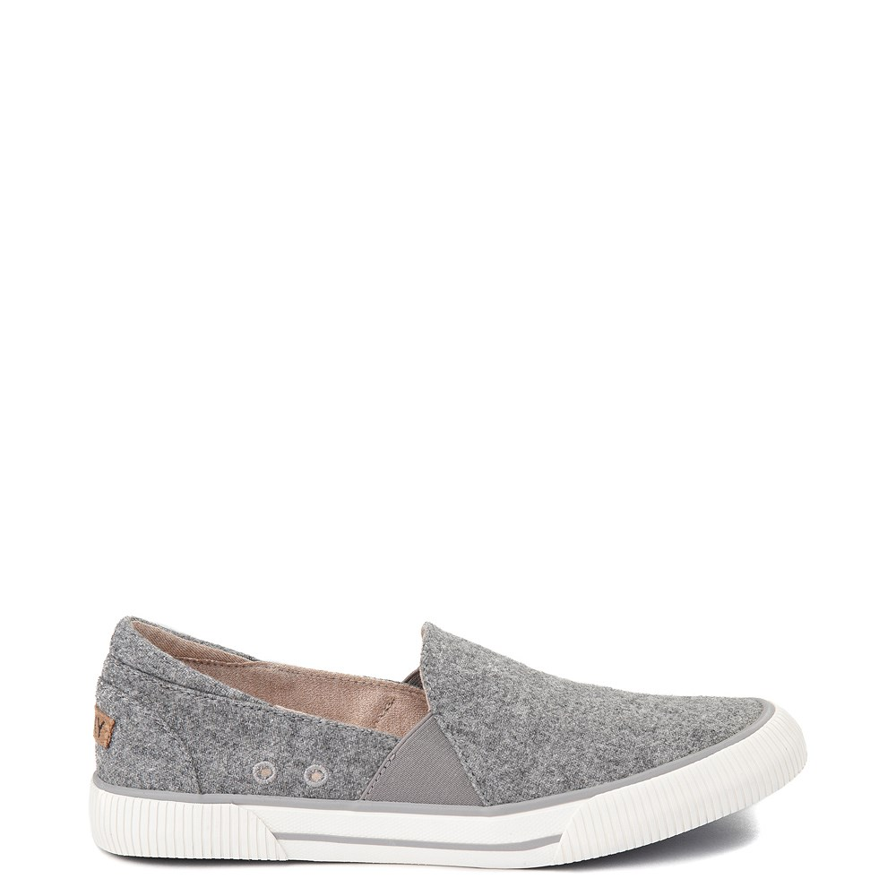 Womens Roxy Brayden Slip On Casual Shoe - Gray