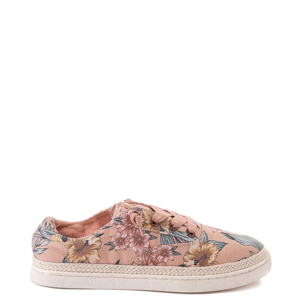 Womens Roxy Talon Slip On Casual Shoe - Pink