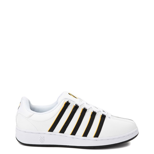 Mens K-Swiss Classic VN Heritage Athletic Shoe - White / Gold / Black