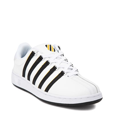 Alternate view of Mens K-Swiss Classic VN Heritage Athletic Shoe - White / Gold / Black