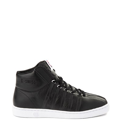 Main view of Mens K-Swiss Classic 66 Mid Athletic Shoe - Black