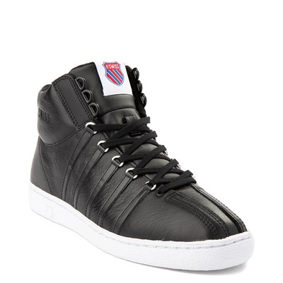 Alternate view of Mens K-Swiss Classic 66 Mid Athletic Shoe - Black