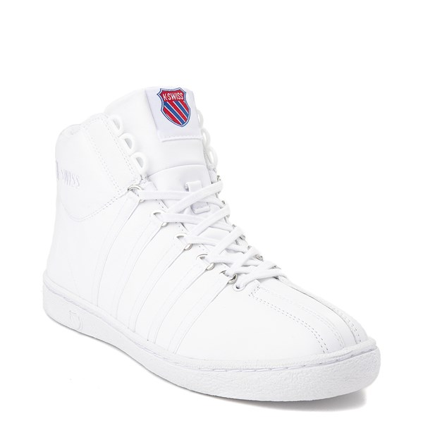alternate view Mens K-Swiss Classic 66 Mid Athletic Shoe - WhiteALT1
