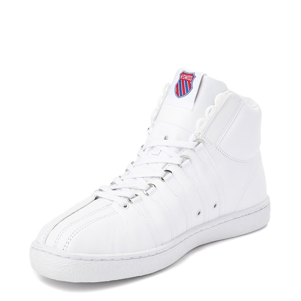 alternate view Mens K-Swiss Classic 66 Mid Athletic Shoe - WhiteALT3