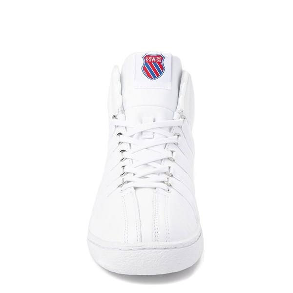 alternate view Mens K-Swiss Classic 66 Mid Athletic Shoe - WhiteALT4