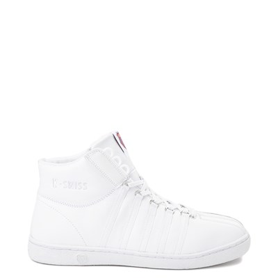 Main view of Mens K-Swiss Classic 66 Mid Athletic Shoe - White