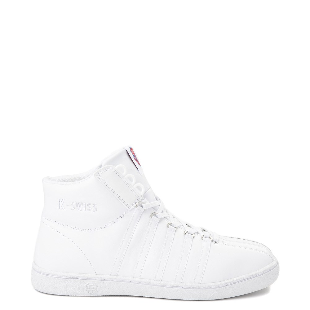 Mens K-Swiss Classic 66 Mid Athletic Shoe - White