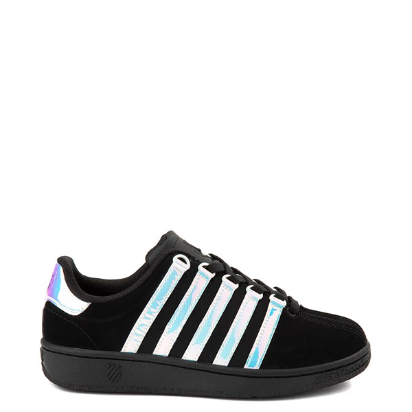 Womens K-Swiss Classic VN Heritage Athletic Shoe - Black / Ice