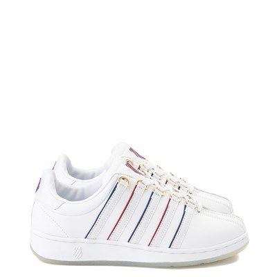 Main view of Womens K-Swiss Classic VN Dreamer Athletic Shoe - White / Multi