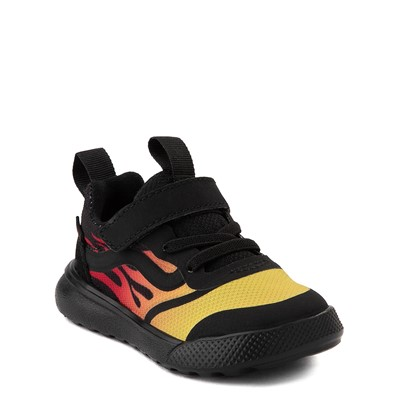 Alternate view of Vans UltraRange Rapidweld V Sneaker - Toddler - Black / Flame