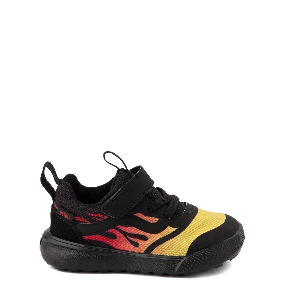 Vans UltraRange Rapidweld V Sneaker - Toddler - Black / Flame