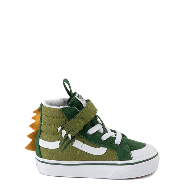 Vans Dino Do Sk8 Hi Reissue 138 V Skate Shoe - Baby / Toddler - Green