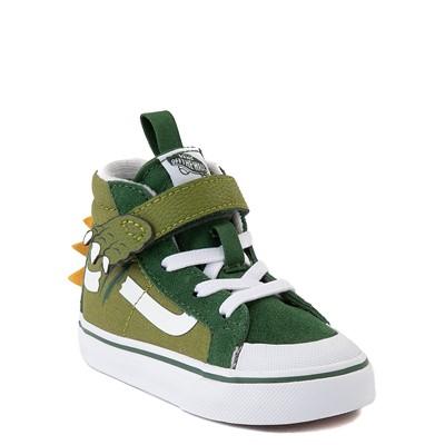 Alternate view of Vans Dino Do Sk8 Hi Reissue 138 V Skate Shoe - Baby / Toddler - Green