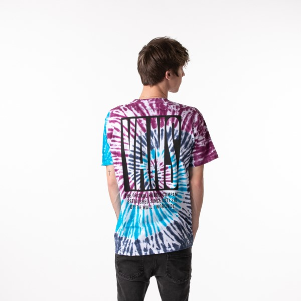 Mens Vans Blocked In Tee - Tie Dye