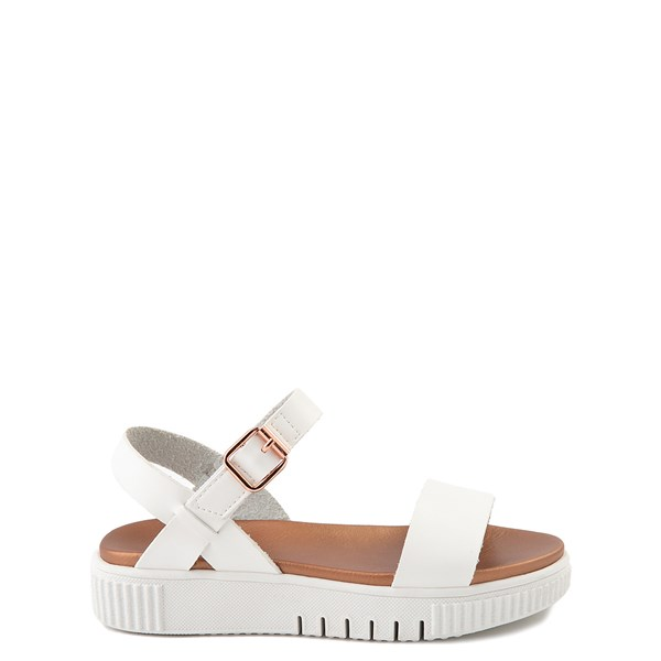 Main view of MIA Deedra Platform Sandal - Little Kid / Big Kid - White