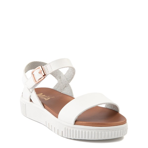 alternate view MIA Deedra Platform Sandal - Little Kid / Big Kid - WhiteALT1