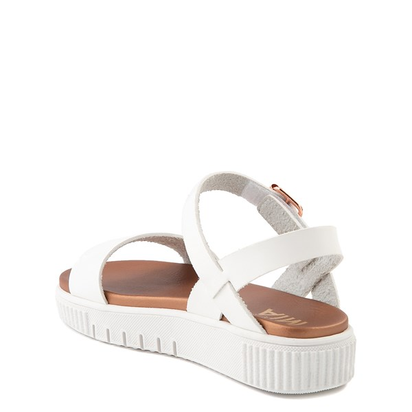 alternate view MIA Deedra Platform Sandal - Little Kid / Big Kid - WhiteALT2
