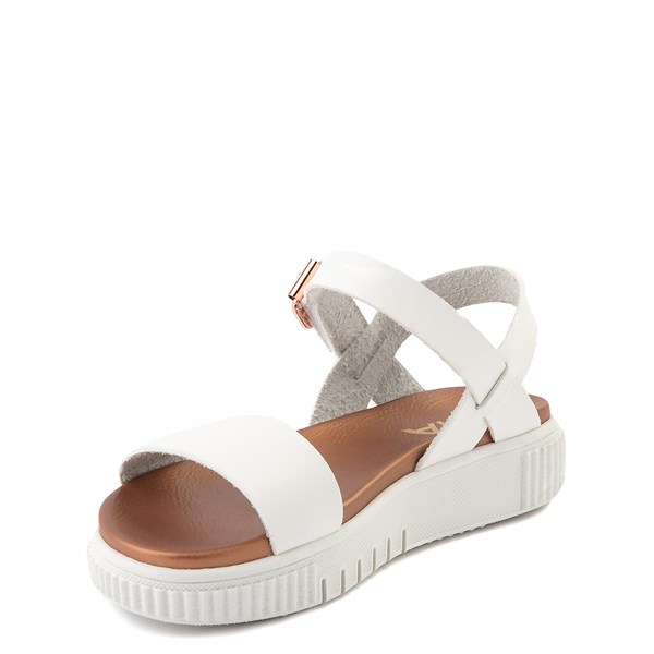 alternate view MIA Deedra Platform Sandal - Little Kid / Big Kid - WhiteALT3