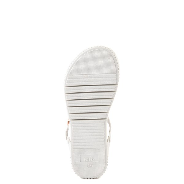 alternate view MIA Deedra Platform Sandal - Little Kid / Big Kid - WhiteALT5