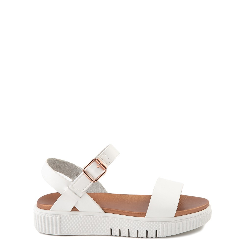 MIA Deedra Platform Sandal - Little Kid / Big Kid - White
