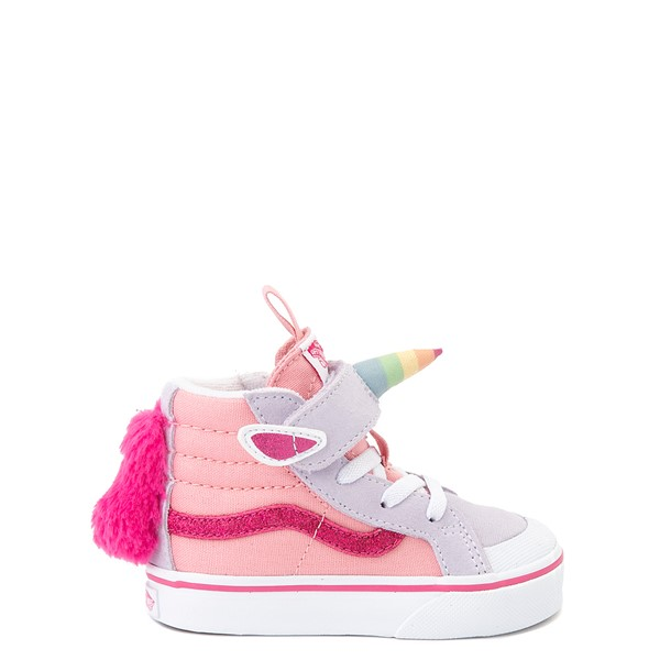 Vans Sk8 Hi V Unicorn Skate Shoe - Baby / Toddler - Pastel Multi